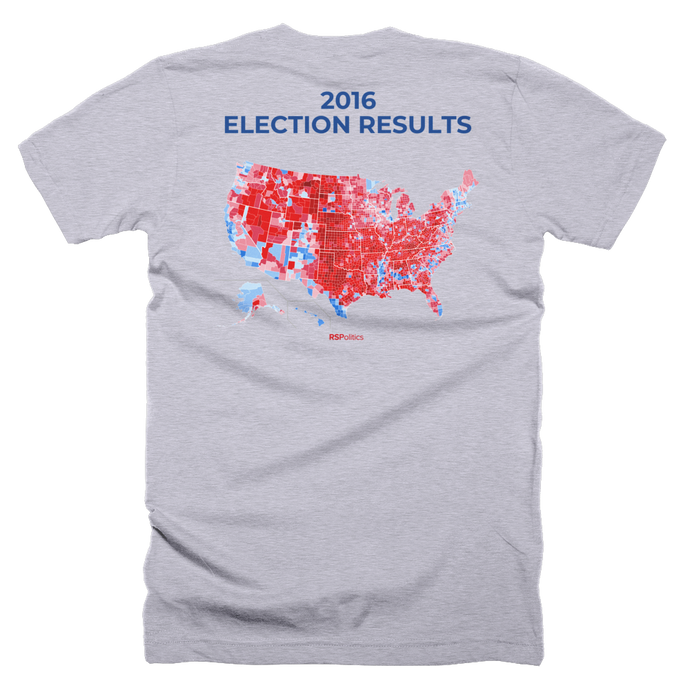 2016 Election Results T-Shirt - RSPolitics Store