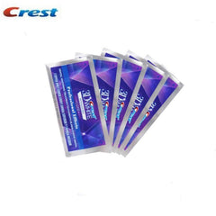 Crest 3D White Whitestrips Professional Effects. Starter/Top Up Kit. 5 Loose Pouches