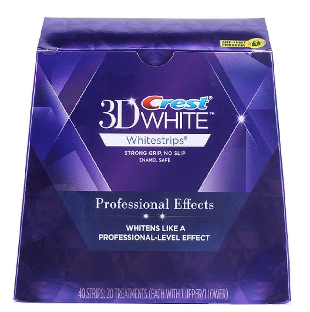 Crest 3D White Whitestrips Professional Effects. Full Course. 20 Loose Pouches