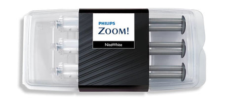 Philips Zoom Nite White 10%/16%/22% Carbamide Peroxide 3 x 2.4ml Syringes