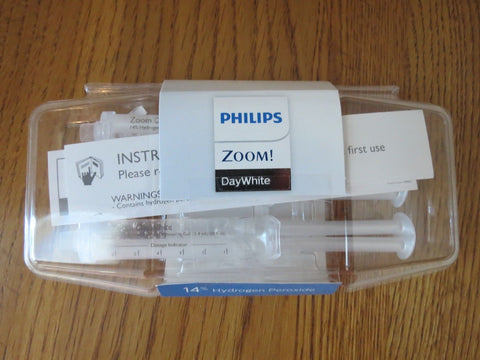 Philips Zoom Day White 14%/9.5% Hydrogen Peroxide 3 x 2.4ml Syringes