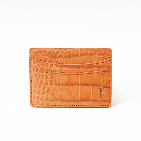 Card Case - Alligator