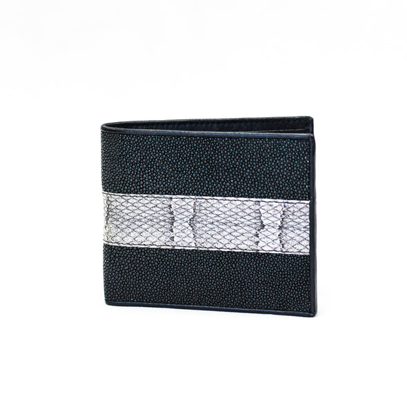 Slim Fold Wallet - Stingray/Snake