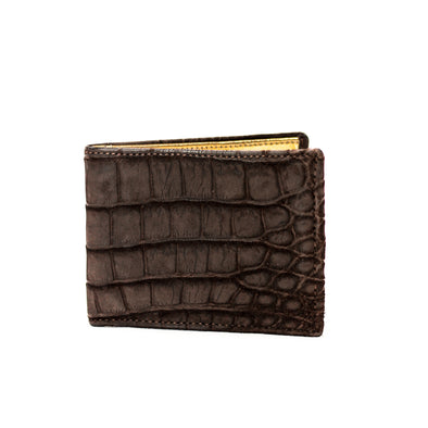 Slim Fold Wallet - Crocodile