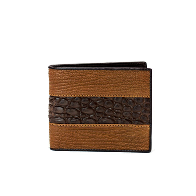 Slim Fold Wallet - Shark/Crocodile