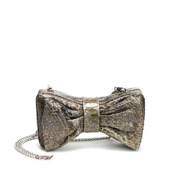 Bow Tie Me Up Clutch