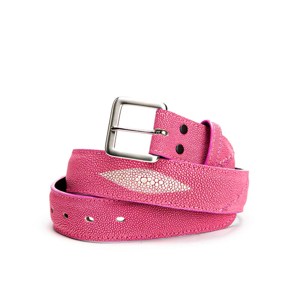 Belt - Pink Stingray