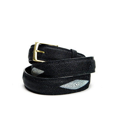 Belt - Black Stingray