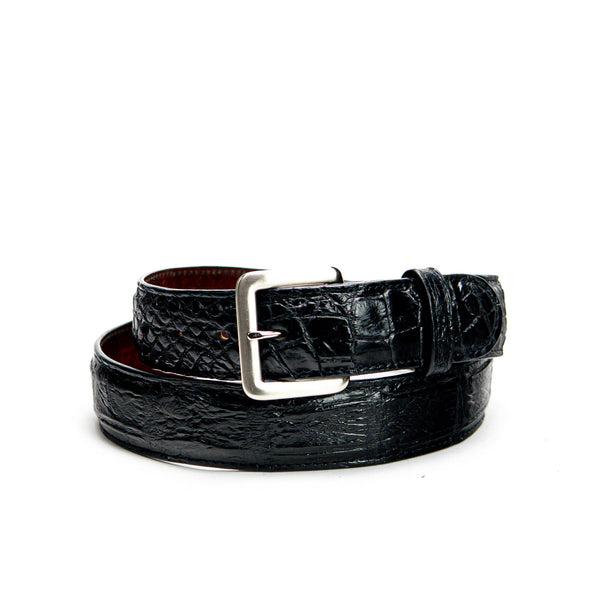 Belt - Black Alligator