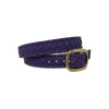 Purple Python Double Wrap Bracelet