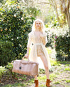 Duffel Bag in Dusty Mink Python