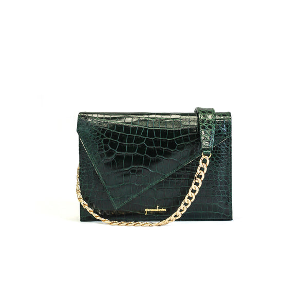Crocodile Cliffhanger Purse