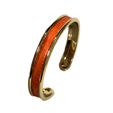 Small Cuff Bracelet - Alligator