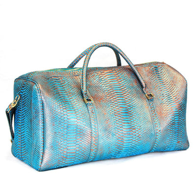 Duffel Bag in Mermaid Python