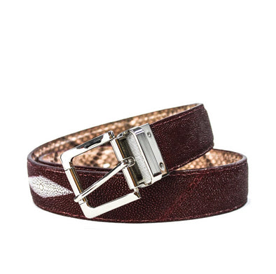Reversible Belt - Stingray & Python