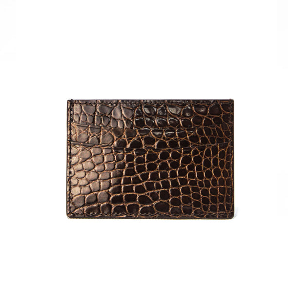 Card Case - Crocodile