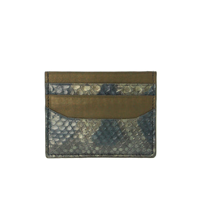 Two Tone Card Case - Python