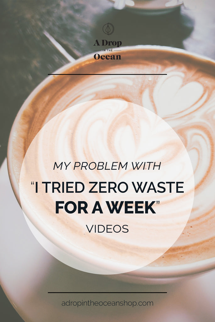 A Drop in the Ocean Zero Waste Store - I Tried Zero Waste for a Week Videos