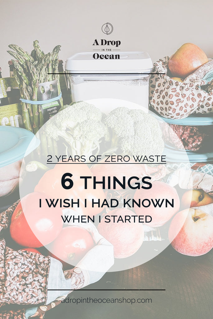 A Drop in the Ocean Zero Waste Store - What I've Learned