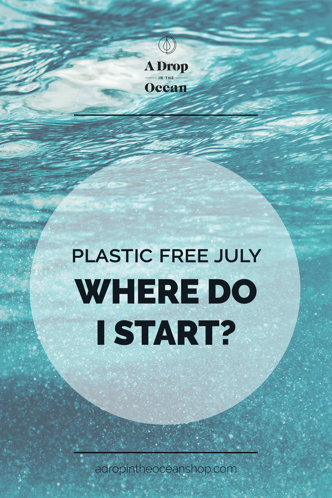 A Drop in the Ocean - Where to Start with Plastic Free July