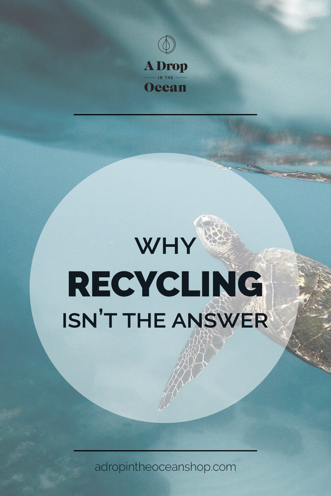 A Drop in the Ocean - Why Recycling Isn't the Answer