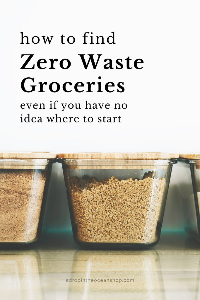 A Drop in the Ocean Tacoma Zero Waste Sustainable Living Blog Where to Find Zero Waste Bulk Bins