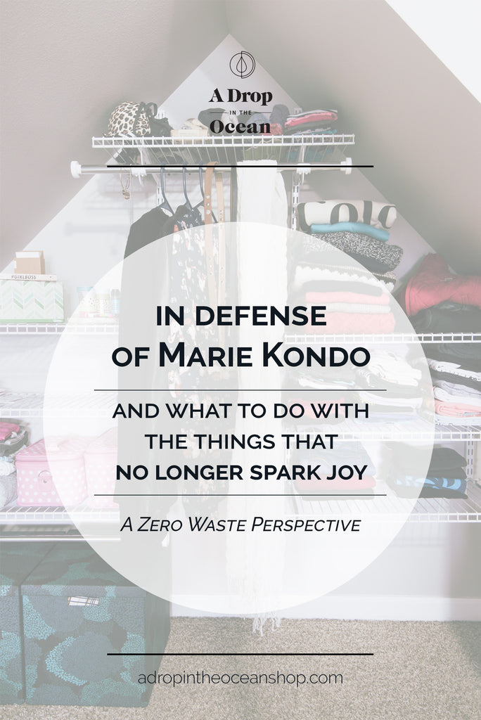 A Drop in the Ocean Shop - Mari Kondo KonMari Zero Waste