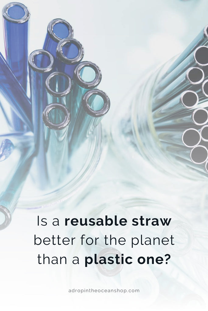 A Drop in the Ocean Tacoma Zero Waste Sustainable Living Blog Is a reusable straw better for the environment than a plastic one?