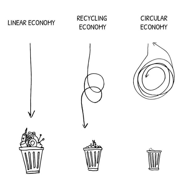 A Drop in the Ocean Linear Economy vs. Circular Economy