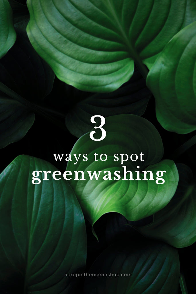 A Drop in the Ocean Tacoma Zero Waste Sustainable Living Blog What is greenwashing?