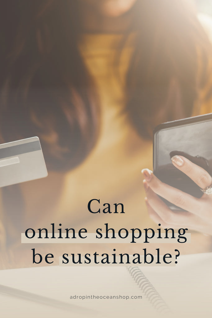 A Drop in the Ocean Tacoma Zero Waste Sustainable Living Blog Environmental impact of online shopping