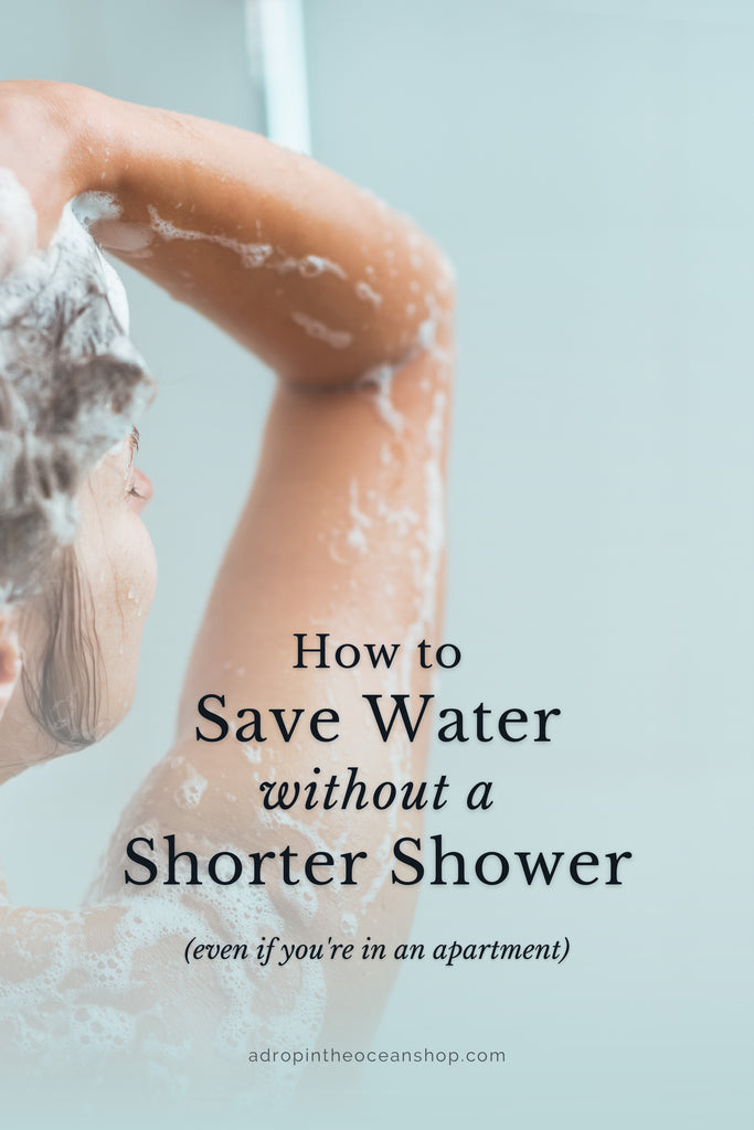 A Drop in the Ocean Tacoma Sustainable Living Zero Waste Blog How to save water without taking shorter showers
