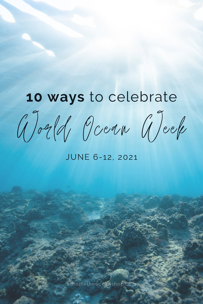 A Drop in the Ocean Tacoma Zero Waste Sustainable Living Blog 10 Ways to Celebrate World Ocean Day