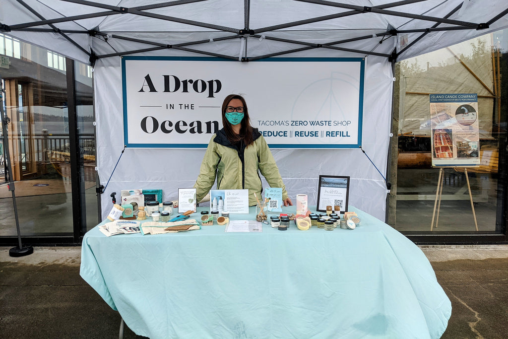 A Drop in the Ocean Sustainable Living Zero Waste Shop Tacoma Ocean Fest
