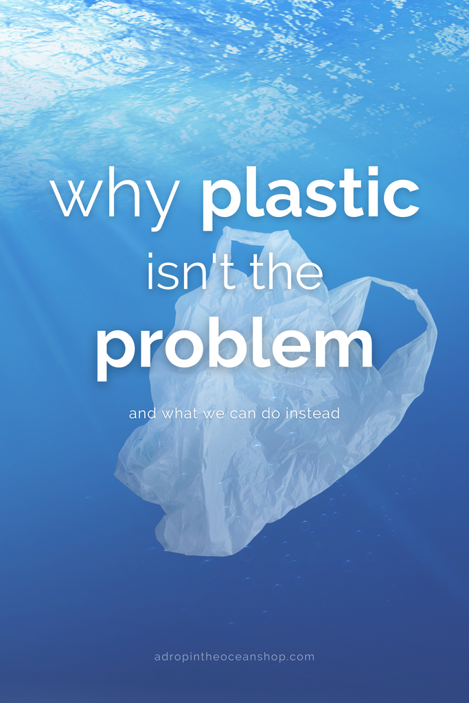 A Drop in the Ocean Tacoma Zero Waste Sustainable Living Bly Why Plastic Isn't the Problem