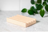 A Drop in the Ocean Tacoma Zero Waste Sustainable Living Shop Natural Wooden Soap Dish Beechwood