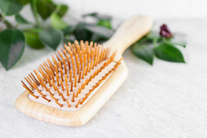 A Drop in the Ocean Tacoma Zero Waste Sustainable Living Shop Wooden Hair Brush