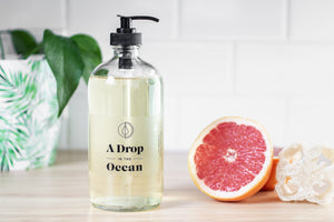 A Drop in the Ocean Sustainable Living Zero Waste Plastic Free Shop Dish Soap (Lemon Grapefruit) Bulk Refills