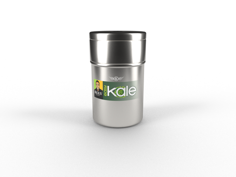 Bilal's EasyKale in Loop packaging