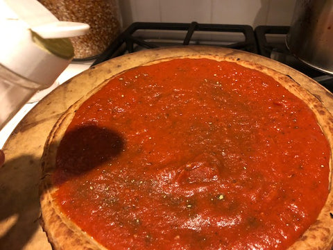 Adding EasyKale to Pizza - EasyKale Recipes