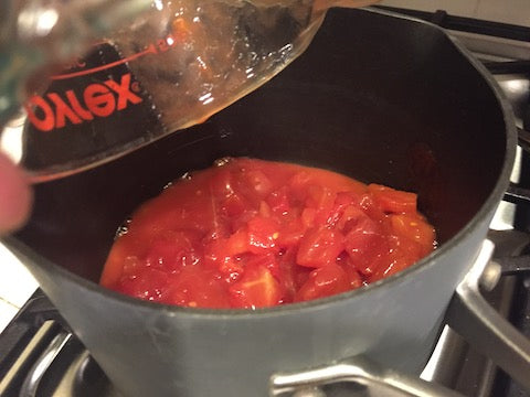 add tomatoes to chili