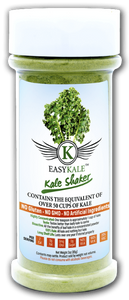 EasyKale Kale Shaker - 65 Servings - 100% Pure Kale Powder