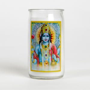 Lord Vishnu The Preserver Ritual Candle