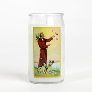 St. Francis of Assisi Ritual Candle