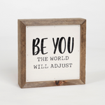 Be You Wall Plaque