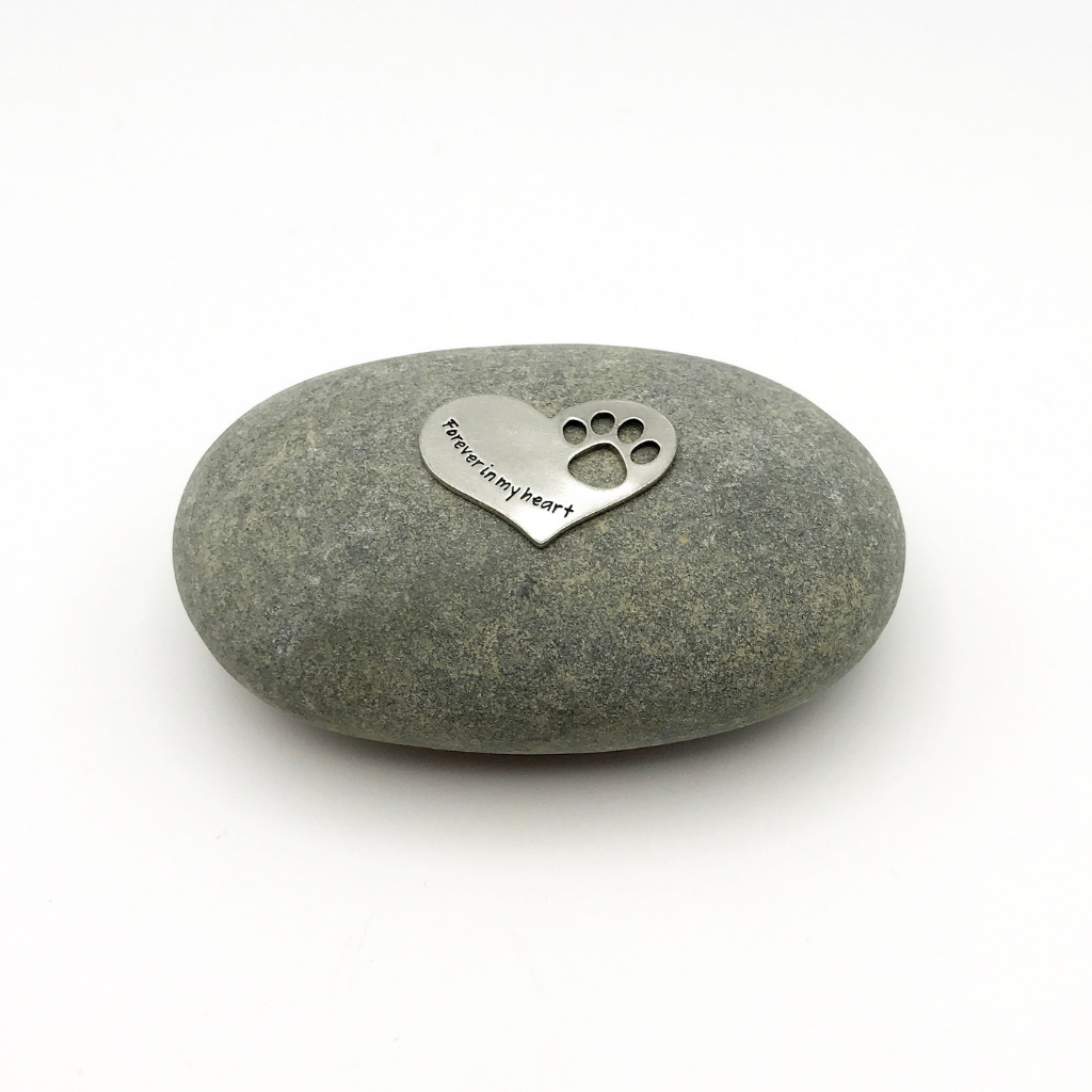 """Forever in my Heart"" Pet Memorial Stone"