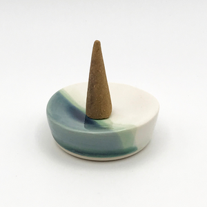 Ceramic Cone Incense Dish