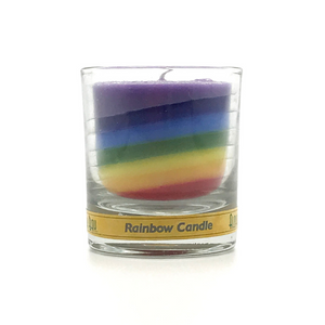 Rainbow Votive Candle