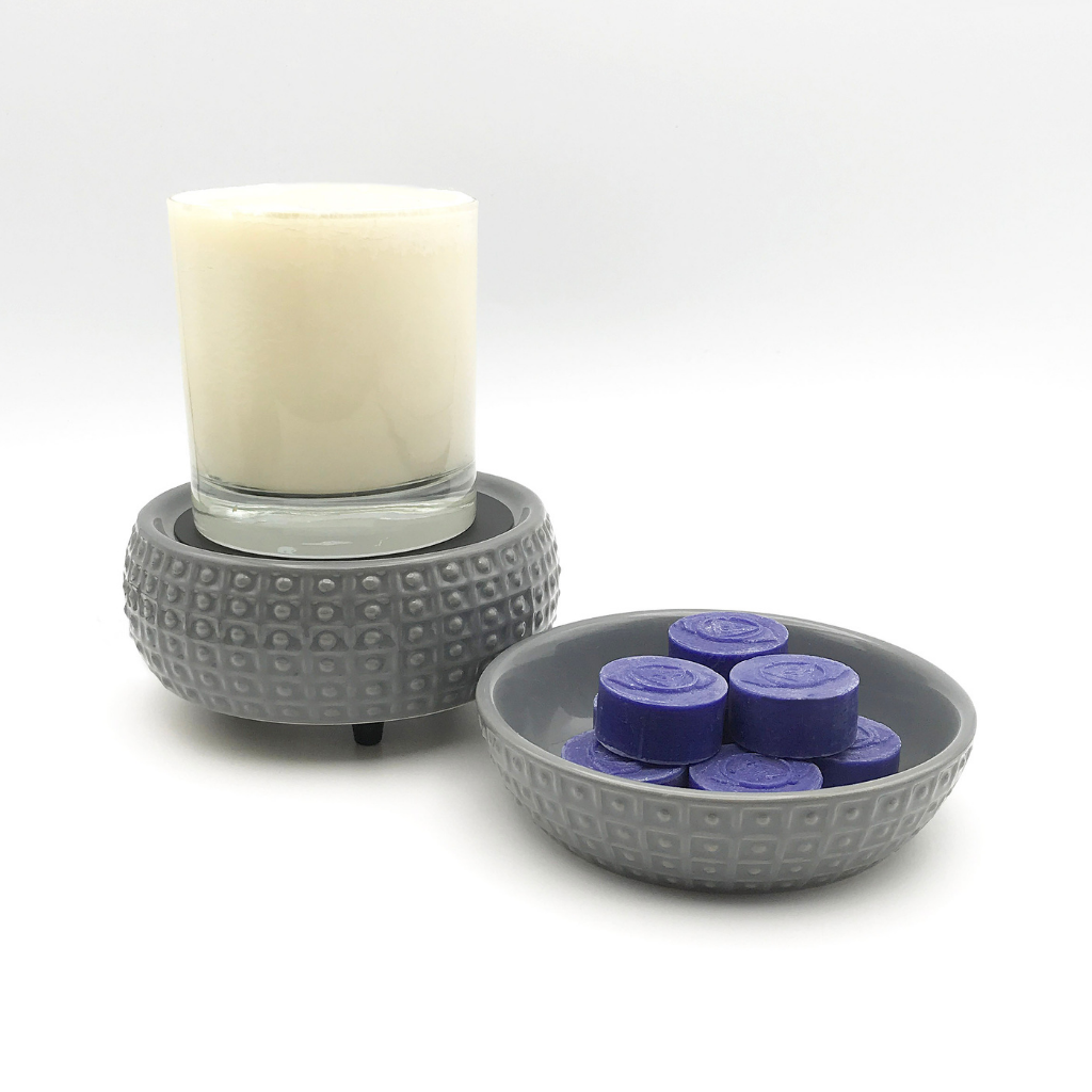 Candle Warmer and Wax Melter | 2 in 1 (Classic Slate)
