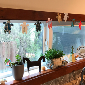 Metallic Turtle Garland